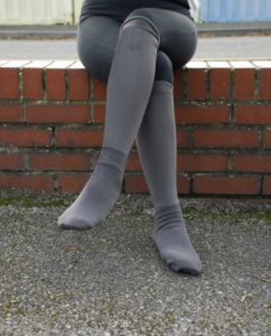 Performance Summer Riding Socks Ladies Grey
