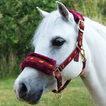 Fluffy Headcollar With Removable Fur