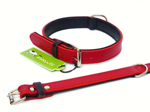 Fusion Leather Collar matching Lead available separately