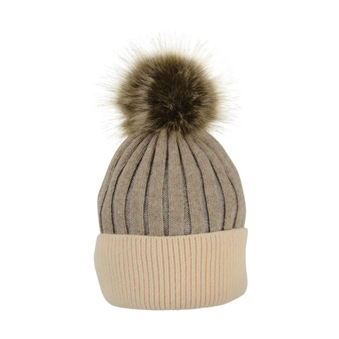 Luxembourg Luxury Bobble Hat