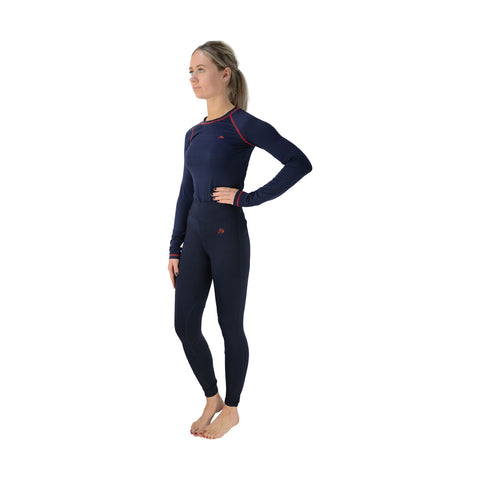 hysigniture Base Layer Navy And Red Great for all weather