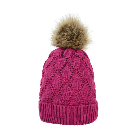 Saskatoon Knitted Bobble Hat