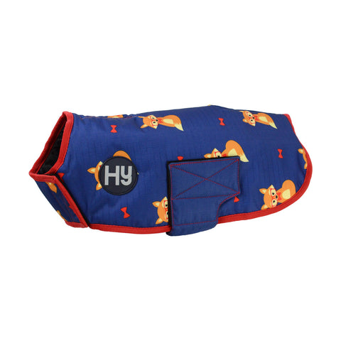 Fraser the Fox Waterproof Dog Coat xxs - xl