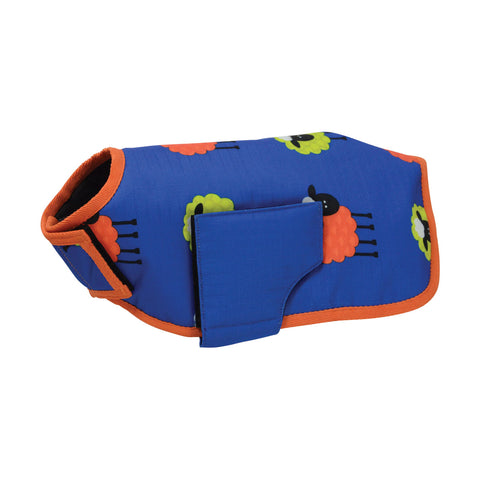 Simon the Sheep Waterproof Dog Coat