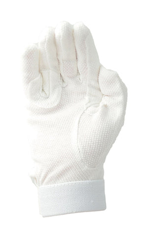 Cotton Pimple Gloves- White