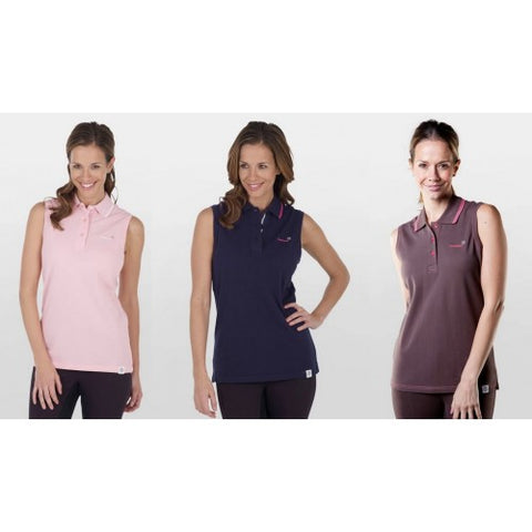 Townend Secret Sleeveless Polo Shirt