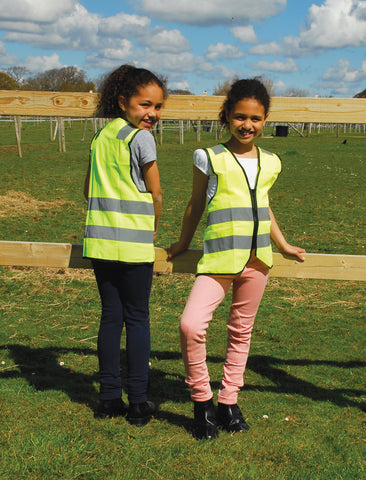 Children Hi - Viz Zipped Tabard