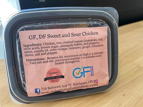 Sweet and Sour Chicken Microwave Meal (DF)
