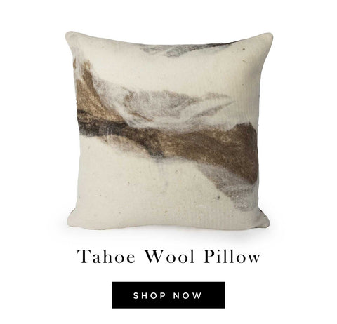 Tahoe Wool Pillow - shop now