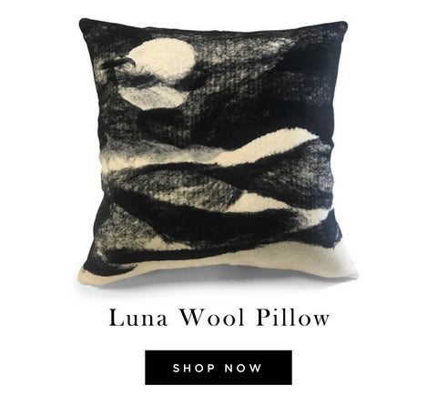 Luna Wool Pillow - shop now
