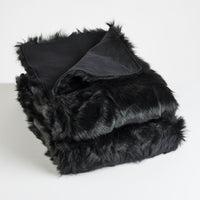 Toscana Sheep Fur Throw Lined with Cashmere/Wool blend - JG Switzer