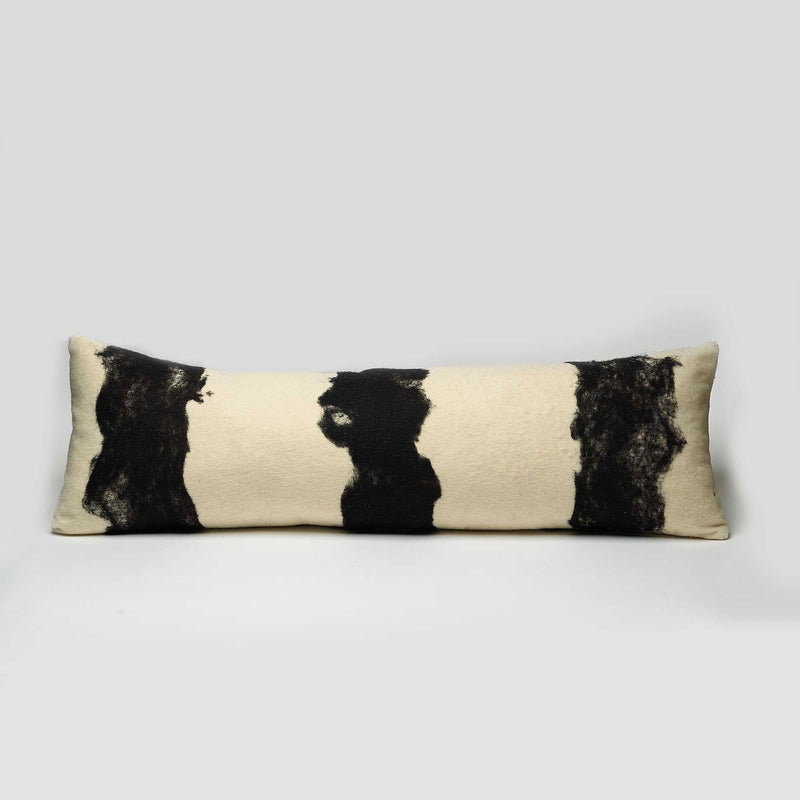The Abstract Wool Pillow