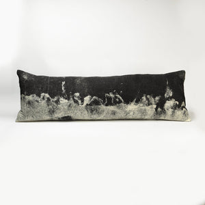 GENESIS Wool Pillow Hand Painted