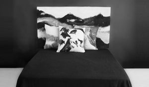 GENESIS Wool Pillow Hand Painted - JG Switzer