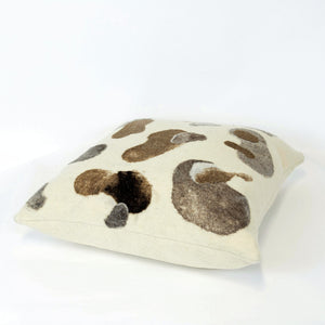 Water Stones Natural Felted Pillow