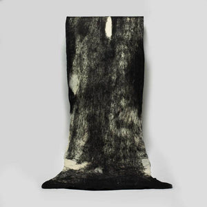Heritage Sheep Black & White Wool Artisan Throw