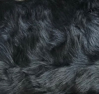 Toscana Sheep Fur Throw Lined with Black 100% Merino