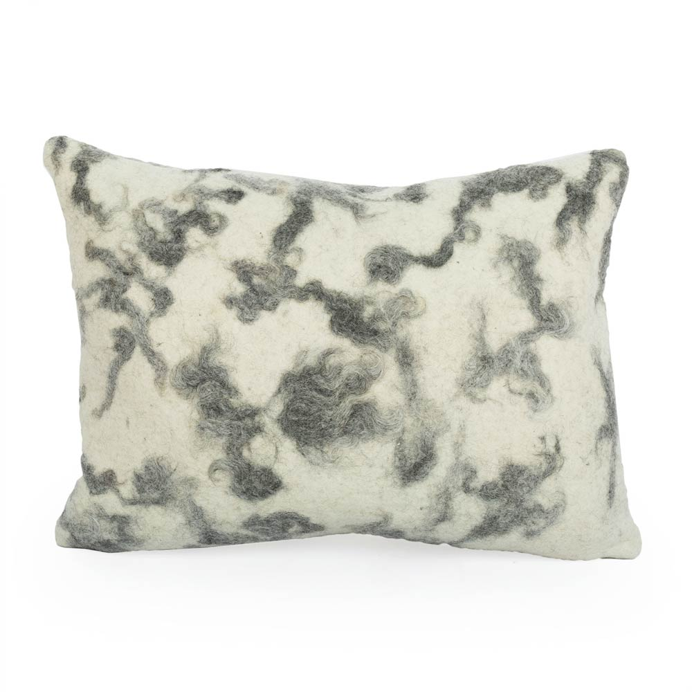 Mixed Grey Gotland Pillow - JG Switzer