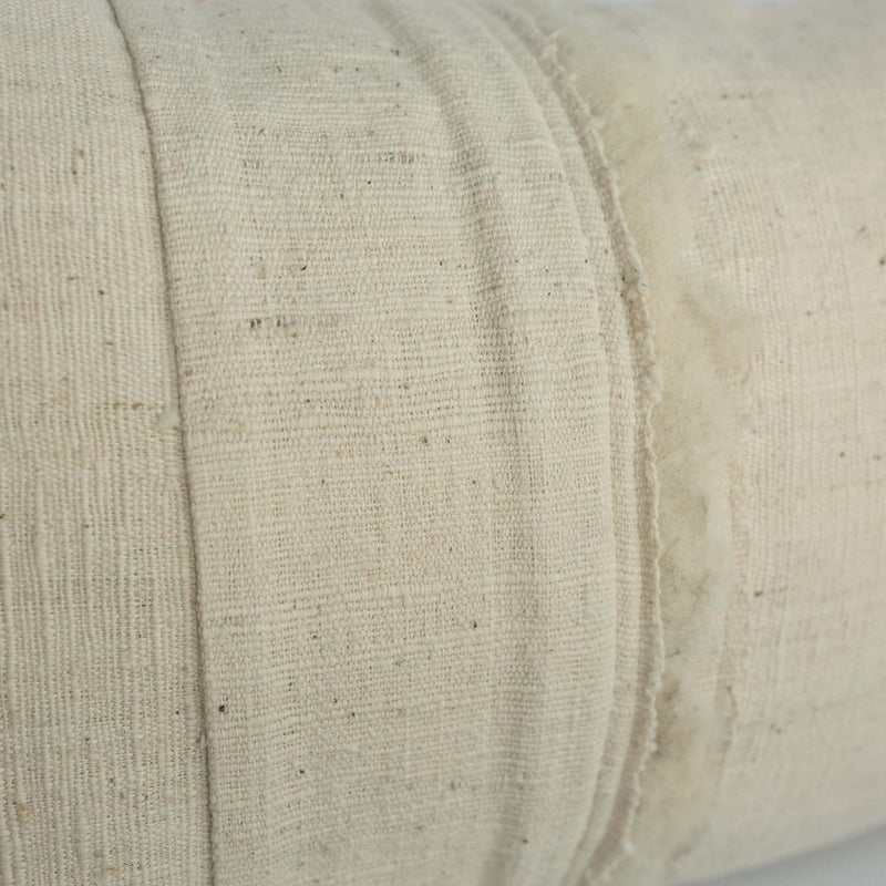 Hand-spun Cotton Pillow from Rare, Hyogo Japan Kimono fabric