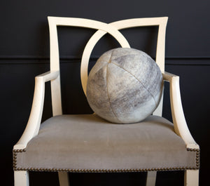 Wool Snowball Pillow