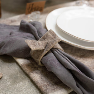 Felted Wool Napkin Rings