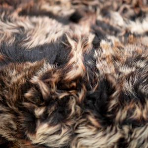 Toscana Sheep Fur Throw Lined with 100% Merino