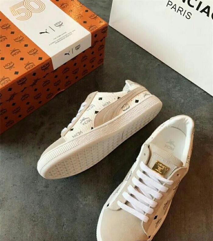 Puma x MCM Canvas Shoes - Eshopping4life