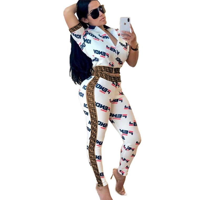 2 Piece Print Tracksuit - Eshopping4life