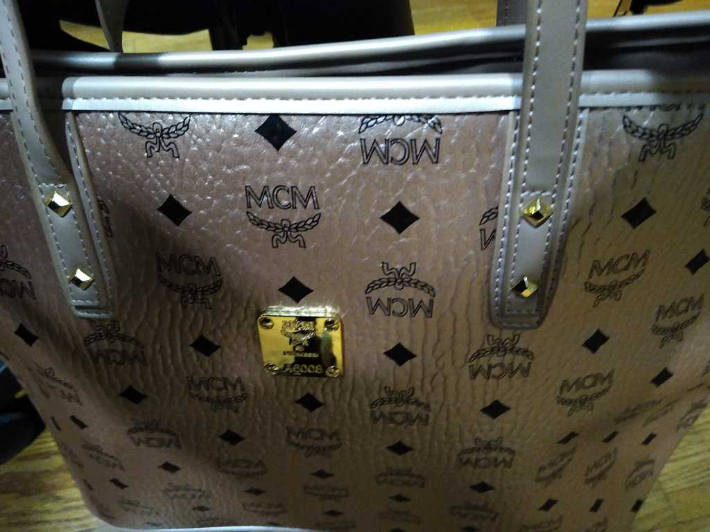 Combo Designer McM Handbag With Clutch Purse - Eshopping4life