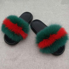 Real Fur Walking Slippers