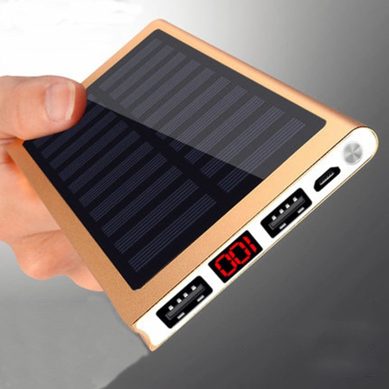 Solar Powered Led Phone Charger For iPhone - Eshopping4life