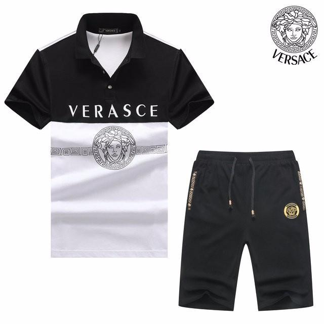 Versace Shirt and Shorts - Eshopping4life