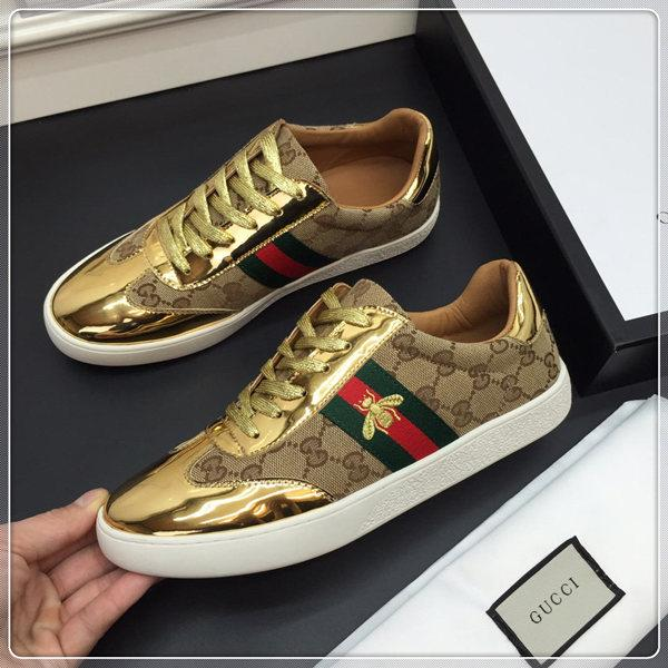 2019 Gold Gucci Shoes - Eshopping4life