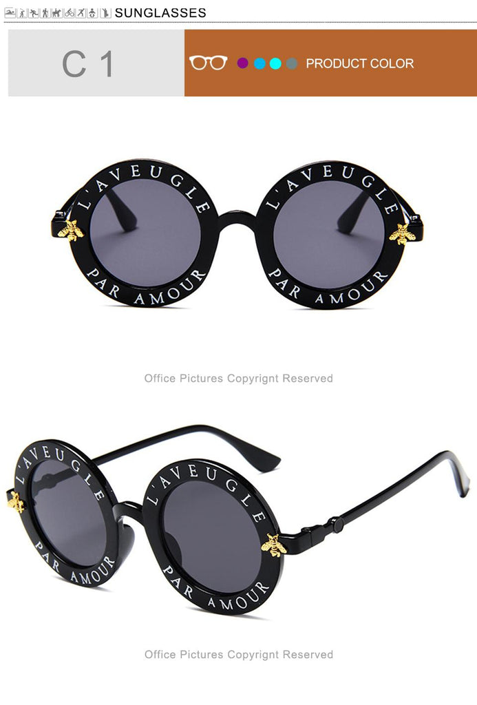 Retro Round Sunglasses - Eshopping4life