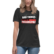 Load image into Gallery viewer, Bad Things Women's Relaxed T-Shirt