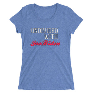 Biden Undivided Ladies' short sleeve t-shirt