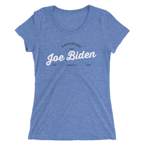Biden Ladies' short sleeve t-shirt