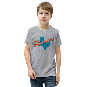 Texas Biden Youth Short Sleeve T-Shirt