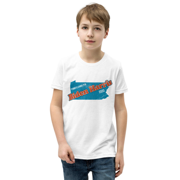 PA Biden Youth Short Sleeve T-Shirt