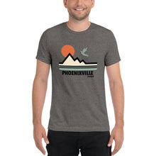 Load image into Gallery viewer, Mountain Tri Blend t-shirt