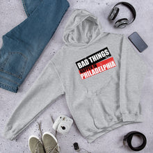Load image into Gallery viewer, Bad Things Philadelphia block Unisex Hoodie