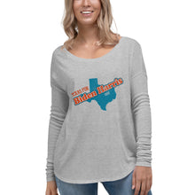 Load image into Gallery viewer, Texas Biden Ladies' Long Sleeve Tee