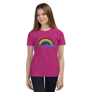 Save us Biden Youth Short Sleeve T-Shirt