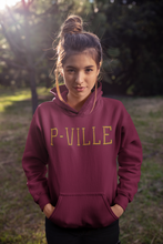 Load image into Gallery viewer, P-Ville Hooded Sweatshirt
