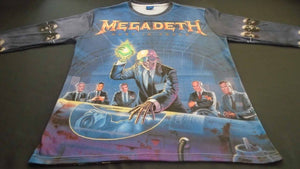 50e1bece2 MEGADETH Rust In Peace - Countdown To Extinction Long Sleeve T-Shirt