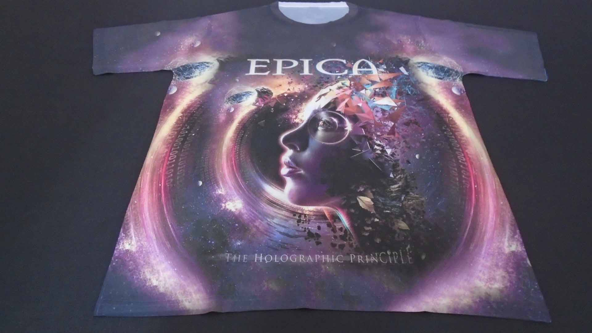 The Holographic Principle T-shirt Shirts & Hemden Epica