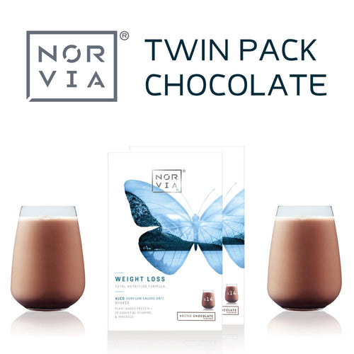 Norvia twin pack chocolate