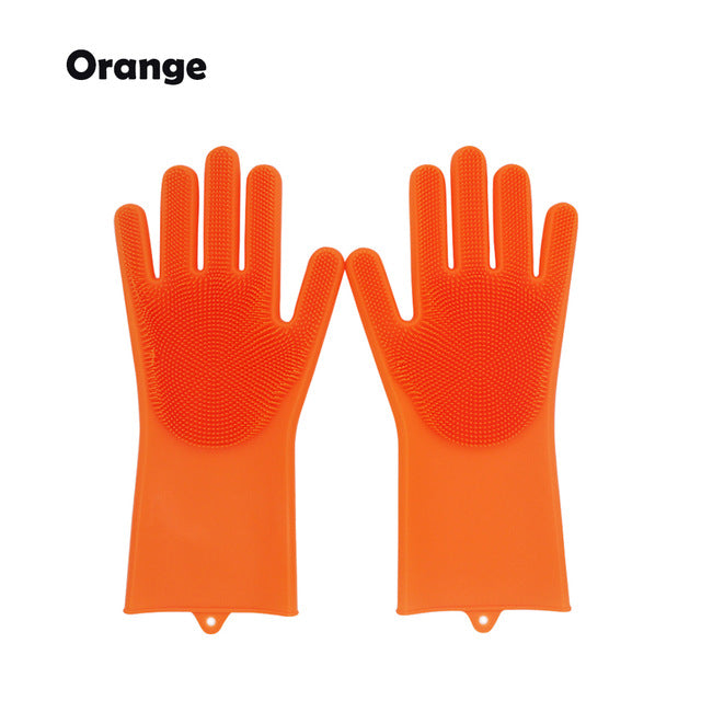 Magic Rubber Silicone Dish Washing Gloves™