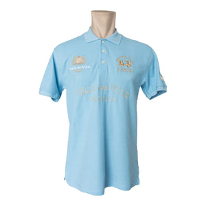 LA MARTINA VAL DE VIE MENS POLO - BLUE