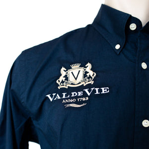 LA MARTINA VAL DE VIE MENS FORMAL LONG SLEEVE SHIRT (Nr3) - NAVY